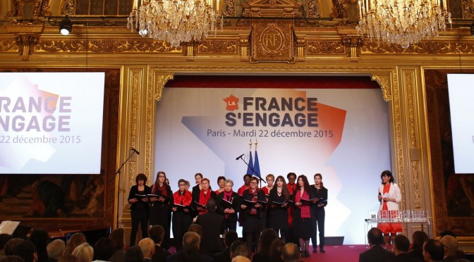 L'association «Concerts de poche» lauréate du concours «La France s'engage» 2015